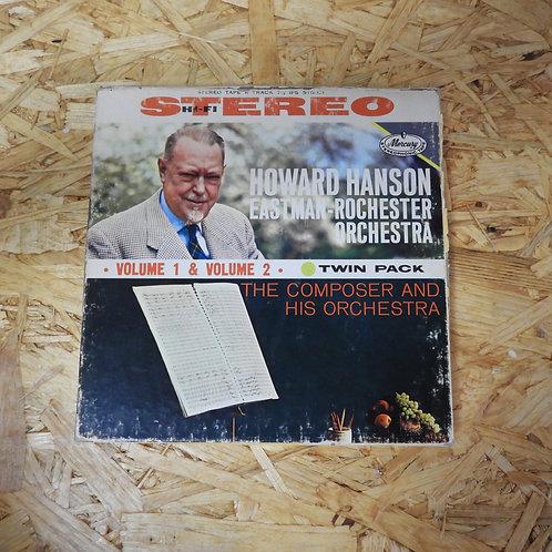 <再生確認済み>「 THE COMPOSER AND HIS ORCHESTRA / HOWARD HANSON」 オープンリール 7号 ミュージック テープ