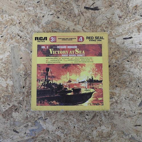 <再生確認済み>「 RODGERS : VICTORY AT SEA, VOL.3 / ROBERT RUSSELL 」 オープンリール 7号 ミュージック テ