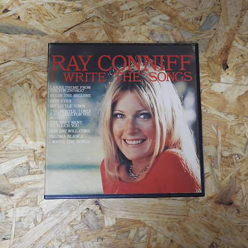 <再生確認済み>「 I WRITE THE SONGS / RAY CONNIFF 」 オープンリール 7号 ミュージック テープ