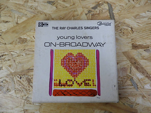 <再生確認済み>「 THE RAY CHARLES SINGERS / YOUNG LOVERS ON-BROADWAY 」 オープンリール 7号 ミュージック