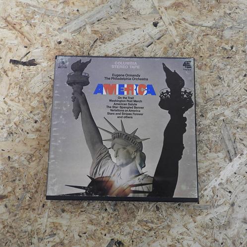 <再生確認済み>「AMERICA / EUGENE ORMANDY THE PHILADELPHIA ORCHESTRA 」 オープンリール 7号 ミュージック