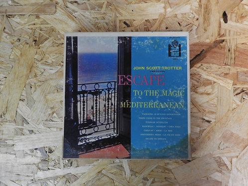<再生確認済み>「 ESCAPE / JOHN SCOTT TROTTER 」 オープンリール 7号 ミュージック テープ