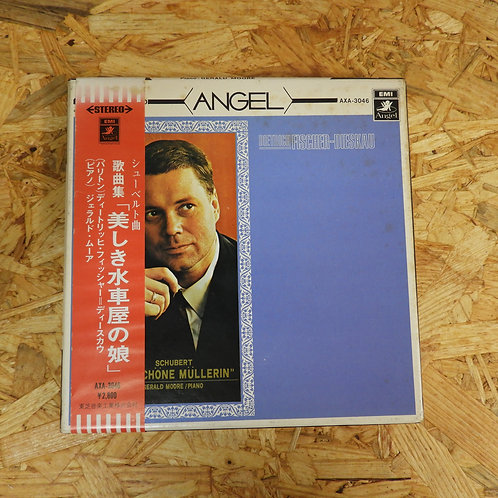 <再生確認済み>「 シューベルト:歌曲集〈美しき水車屋の娘〉/ フィッシャー=ディースカウ 」 オープンリール 7号 テープ