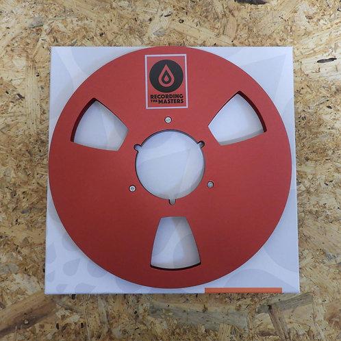 <美品!> オープンリール テープ THE RECORDING MASTERS レッド 10号 メタルリール  106