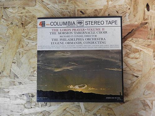 <再生確認済み>「 THE LORD'S PRAER VOL.II 」 オープンリール 7号 ミュージック テープ