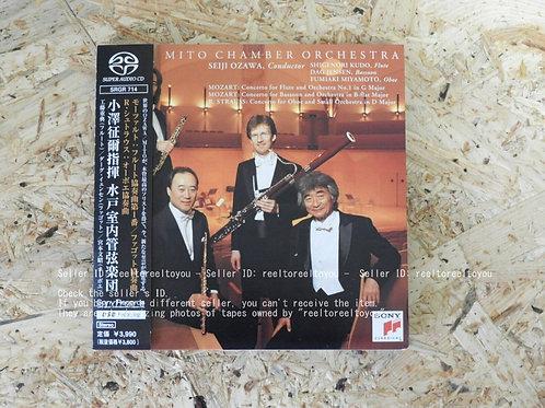 モーツァルト , R. シュトラウス : 木管協奏曲集 / 小沢征爾 水戸室内管弦楽団