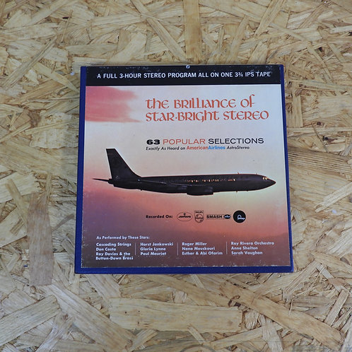 <再生確認済み>「 AMERICAN AIRLINES ASTROSTEREO POPULAR PROGRAM NO.52 」 V.A. オープンリール 7号