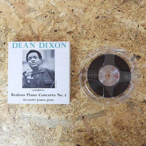 <再生確認済み>「 PIANO CONCERTO NO.2 IN B FLAT OP.83 / DEAN DIXON 」 オープンリール 5号 ミュージック テ