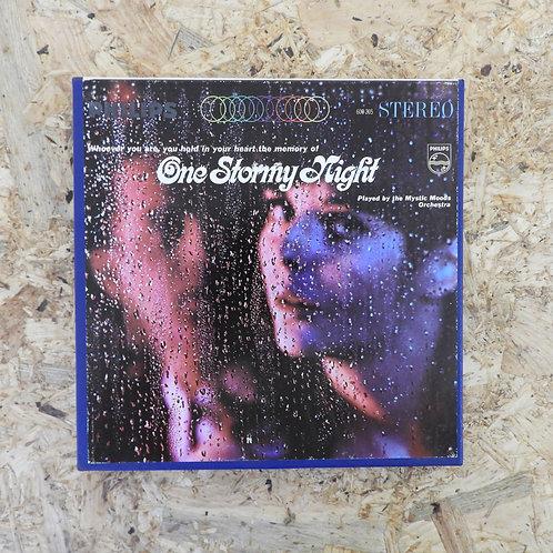 <再生確認済み>「 ONE STORMY NIGHT 」 オープンリール 7号 ミュージック テープ