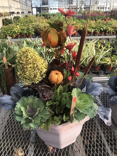 Fall planter #8
