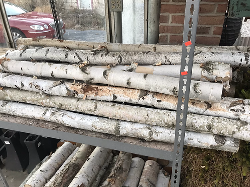 4-5' birch logs