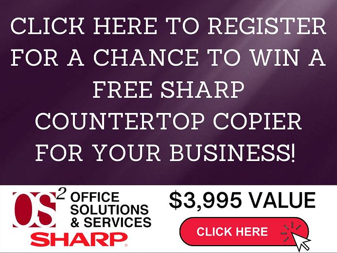 Copy of SHARP COUNTERTOP COPIER SYSTEM S