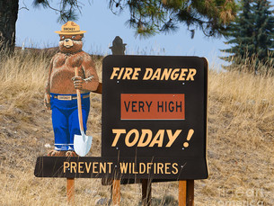 Fire Danger VERY HIGH in Missoula Area