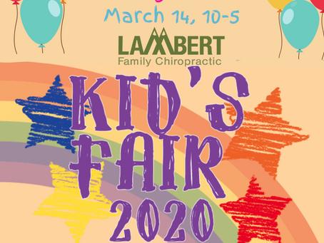 Kids Fair 2020 POSTPONED!