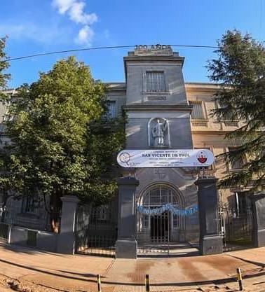 Instituto San Vicente de Paúl y Capilla MedallaMilagrosa - Belén de Escobar, Buenos Aires Argentina.