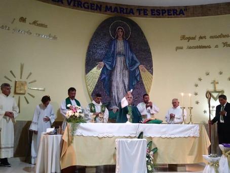 Instalación de Superior y Toma de Posesión como Párroco del P. Víctor Filippini CM