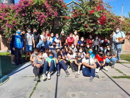 Pascua Joven en la Comunidad de Santa Lucía (San Juan).