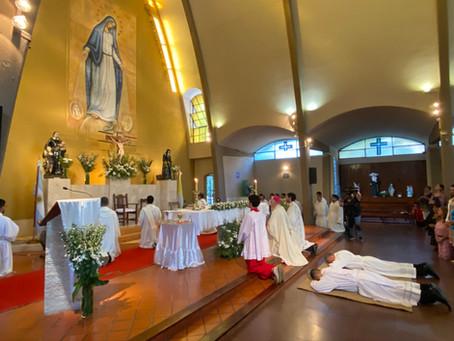 Nuevos Diáconos para la Congregación de la Misión