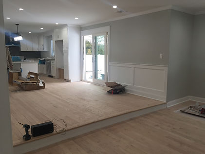 Staged Long Island | Staging Your Home For Sale | Home Stager | Configuring Your Home | Increase Value | Sell Your Home | Small Living Room | Kitchen Are | Two Level Rooms | Before