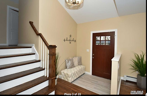 Staged Long Island | Staging Your Home For Sale | Home Stager | Increase Value | Sell Your Home | Walk Way | Entry Way | After Staging