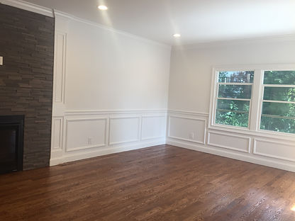 Staged Long Island | Staging Your Home For Sale | Home Stager | Configuring Your Home | Increase Value | Sell Your Home | Family Room and Dining Area | Before