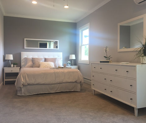 Staged Long Island | Staging Your Home For Sale | Home Stager | Increase Value | Sell Your Home | Master Bedroom | After Staging
