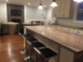Staged Long Island | Staging Your Home For Sale | Home Stager | Configuring Your Home | Increase Value | Sell Your Home | Modern Dining Bar | Updated Kitchen | After Staging