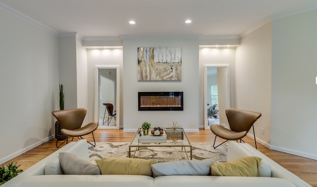 Staged Long Island | Staging Your Home For Sale | Home Stager | After Staging | Cozy Contemporary