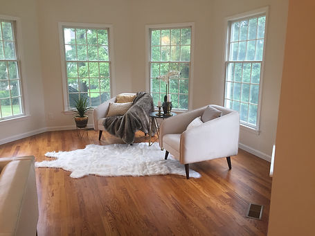 Staged Long Island | Staging Your Home For Sale | Home Stager | After Staging | Cozy | Contemporary Chic Styling
