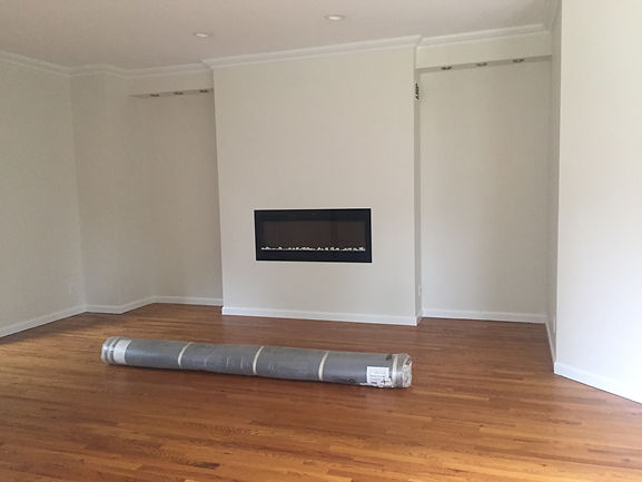 Staged Long Island | Staging Your Home For Sale | Home Stager | Before Staging | Contemporary fireplace