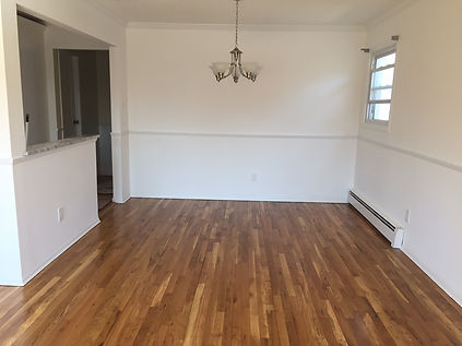 Staged Long Island | Staging Your Home For Sale | Home Stager | Configuring Your Home | Increase Value | Sell Your Home | Vacant Room | Dining Area | Before | Empty