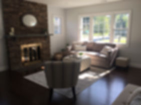 Staged Long Island | Staging Your Home For Sale | Home Stager | Increase Value | Sell Your Home Quickly | Family Room | After Staging