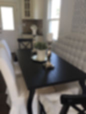 Staged Long Island | Staging Your Home For Sale | Home Stager | Configuring Your Home | Increase Value | Sell Your Home | Dining Table Fit | After Staging