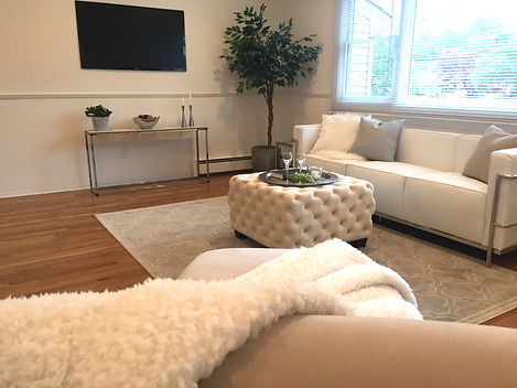 Staged Long Island | Staging Your Home For Sale | Home Stager | Increase Value | Sell Your Home | Living Area | Family Room | After Staging