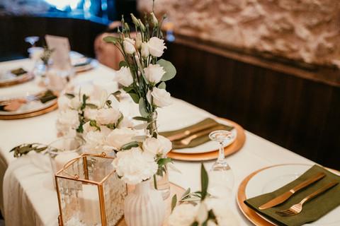 elegante Greenerydeko Hochzeit Wolke7Wed