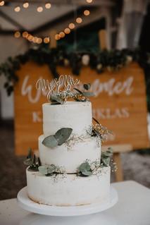 Naked Cake Hochzeit Wolke7Wedding