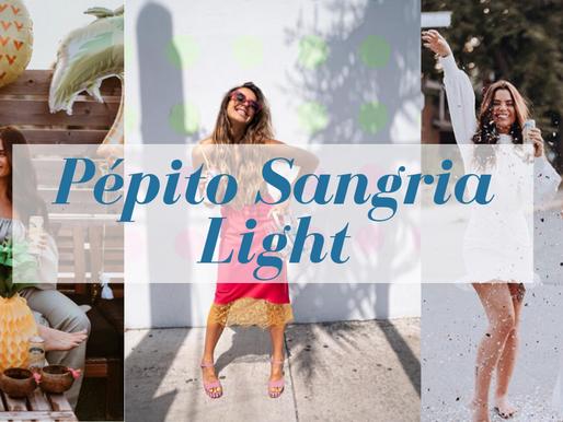 Pépito Sangria amène de la légèreté au Québec avec sa nouvelle recette Light 🍊