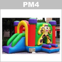 Preços do aluguer do insuflável PM4: