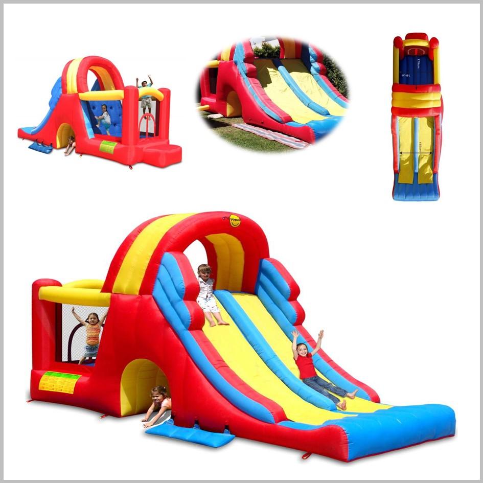 Castelo insuflável Happy Hop - Mega Slide-Combo - 9082N