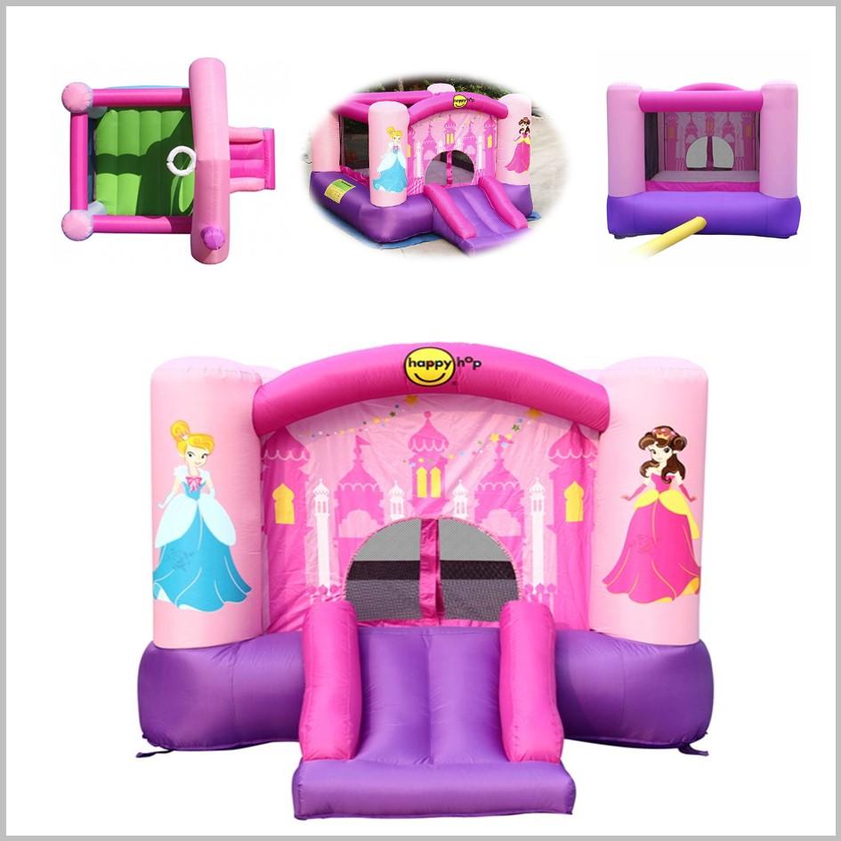 Castelo insuflável Happy Hop - Princess Slide Hoop Bouncer - 9201P