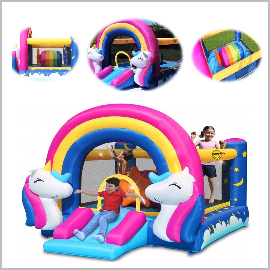 Castelo insuflável Happy Hop - HitMe Fantasy Unicorn - 8004