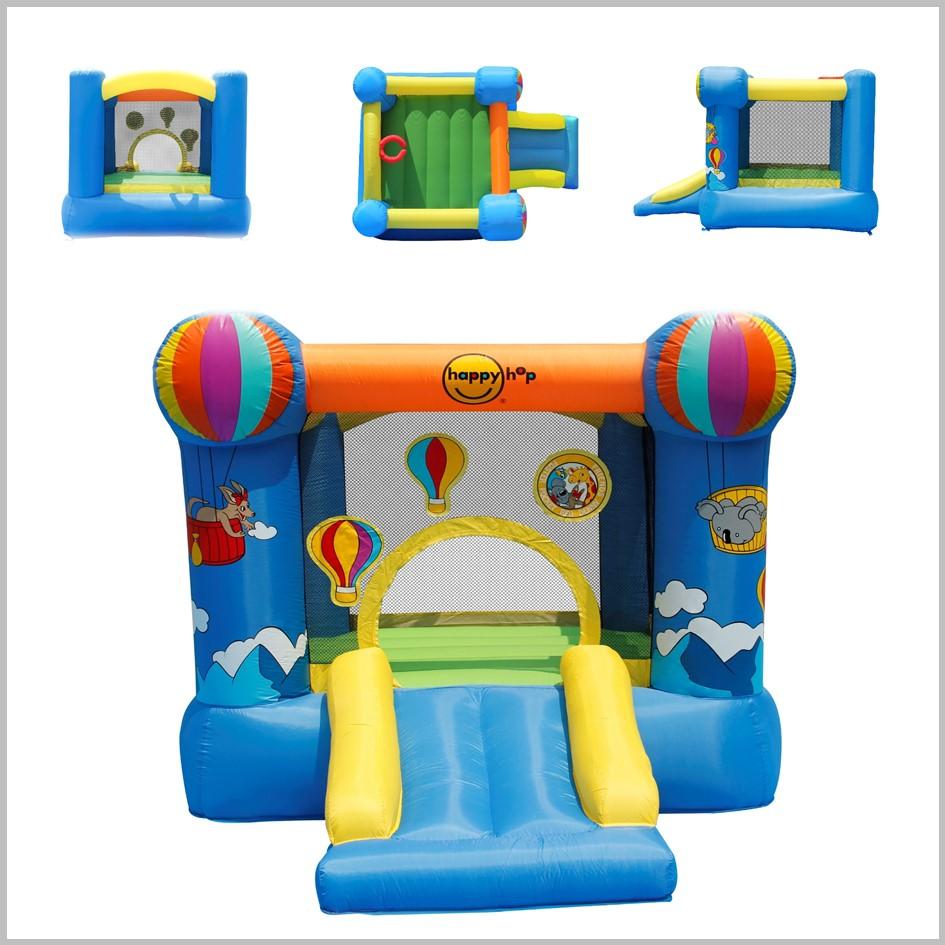 Castelo insuflável Happy Hop - Hot Air Balloon Slide - 9070N