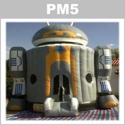 Preços do aluguer do insuflável PM5:
