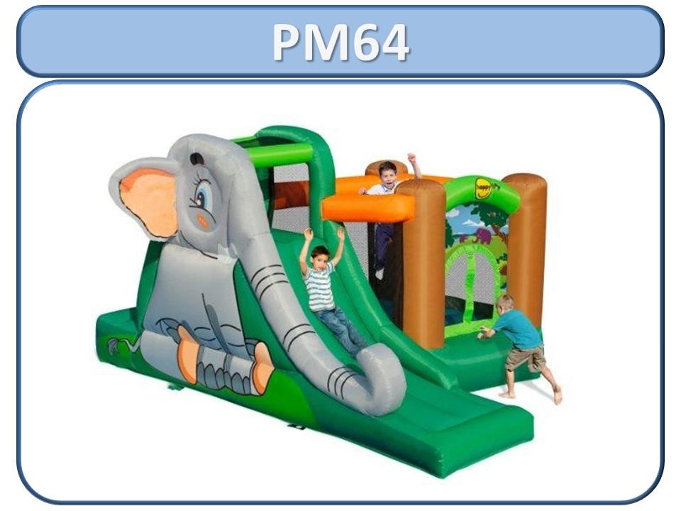 Pulamania - aluguer de insufláveis - pm64