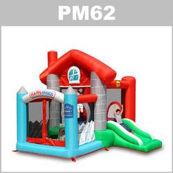 Preços do aluguer do insuflável PM62: