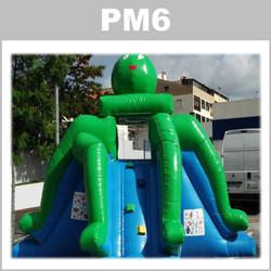 Preços do aluguer do insuflável PM6: