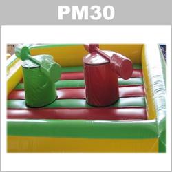 Preços do aluguer do insuflável PM30: