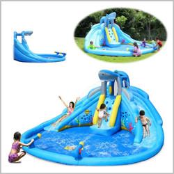 Castelo insuflável aquático Happy Hop - The Shark Pool - 9421