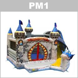 PM1 - aluguer de insufláveis - happy hop -pulamania