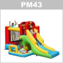 Preços do aluguer do insuflável PM43: